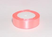 Лента атласная 25 мм, розовая, В-089