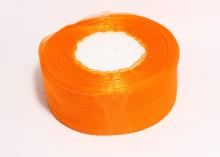 Органза Оранжевая, 4 см