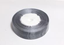 Органза Серая. 25 мм