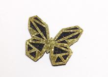 Патч для самостоятельной склейки, Бабочка золото, 4 см