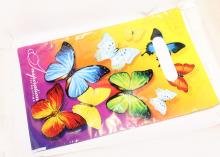 Пакет подарочный Бабочки. 20х30 см