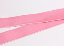 Лента бархатная Розовый-36, 25 мм