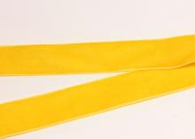 Лента бархатная Желтый-20, 25 мм