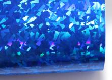 Кожзам Битое стекло, 20х30 см, Синий