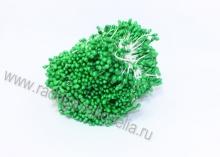 Тычинки гладкие, 3 мм, зеленые  1 пучок (100 нитей +- 2)