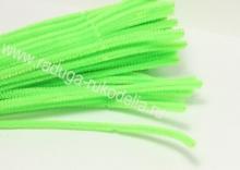 Проволока синельная светло-зеленая, 30 см