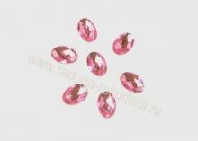 Кабошон овальный 13*18 мм, розовый