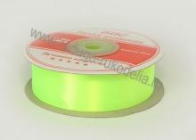 Лента атласная 25 мм, ядовито-зеленая В-100