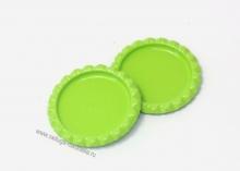 Крышки для бантиков. Цвет-светло-зеленый.