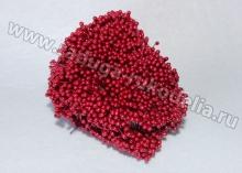 Тычинки гладкие, Красные. 3 мм