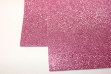 Фоамиран глиттерный, -розовый. 20х30 см