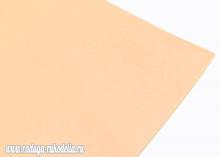 Фоамиран Светлый персик, 60х70 см, Иран, 1 мм