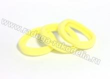 Резинка бесшовная 4,5 см, желтая 16