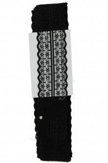 Кружево черное, 4,5 см