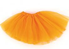 Юбка из фатина 2-слойная. Оранжевая