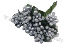 Букетик тычинок (9 шт). Серебро