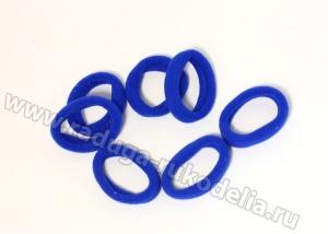 Резинка бесшовная 4,5 см, синяя № 24
