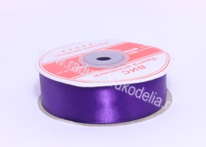 Лента атласная 25 мм, фиолетовая В-085