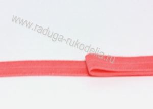 Лента эластичная для повязок, розово-коралловая