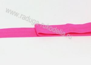 Лента эластичная для повязок, ярко-розовая-2