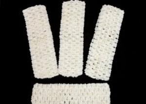 Повязки (основа) 4 см (цв. белый) ажурная вязка