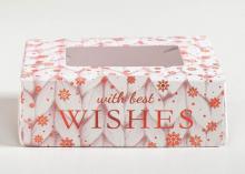 Коробка складная Best wishes, 10 × 8 × 3.5 см