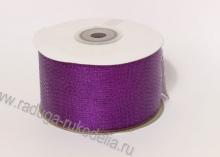 Парча фиолетовая , 50 мм