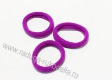 Резинка бесшовная 4,5 см, фиолетовая-34