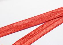 Лента эластичная для повязок, красная 15 мм