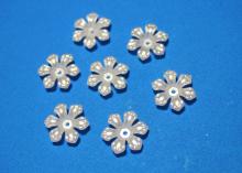 Полубусины Цветок 6-лепестковый, 18 мм