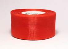 Органза Цвет красный. 4 см