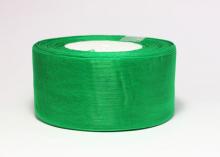 Органза Цвет зеленый. 5 см