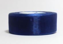Органза Цвет темно-синий. 5 см