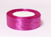 Лента атласная, ярко-розовый-95, 25 мм