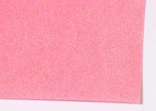Фетр глиттерный, Светло-розовый, 20х30 см