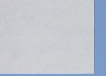 Фетр глиттерный, Белый, 20х30 см