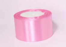 Атласная лента Розовый-094, 50 мм
