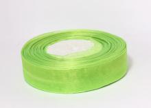 Органза Светло-зеленая. 25 мм