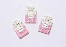 Кабошон пластик Шанель, Розовый, 22 мм