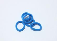 Резинка бесшовная 3 см, темно-голубой-33