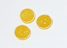 Кабошон Кружок апельсина, 20 мм