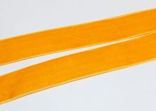 Лента бархатная Оранжевая, 25 мм
