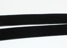 Лента бархатная Черная, 25 мм