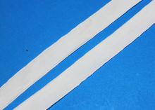 Лента бархатная 1,5 см, Белая