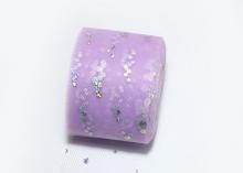 Фатин с блестками голограмма, 5 см, Сирень