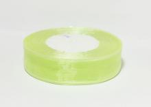 Органза Светло-мятная. 25 мм