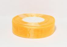Органза Светло-оранжевая. 25 мм