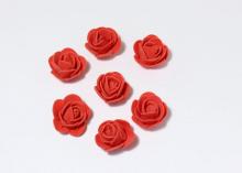 Роза из фоамирана 2,5 см. Красная