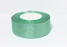 Парча Изумруд серебр, 40 мм
