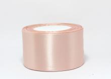 Лента атласная дымчато-розовый №107, 5 см